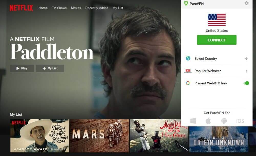 PureVPN Netflix - How to access US library