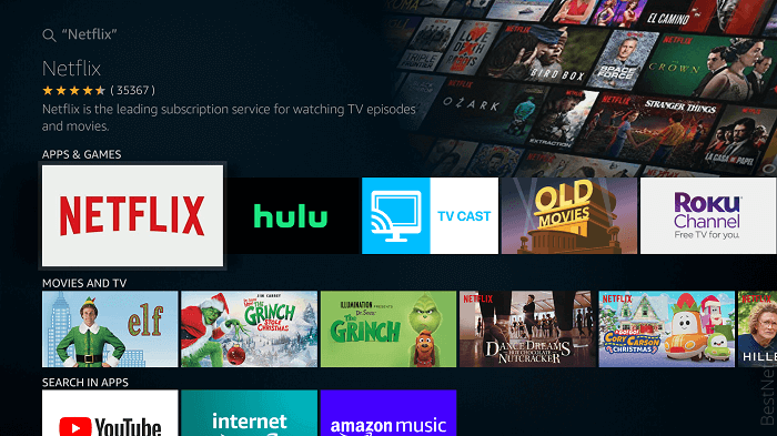 Though there is no such thing as free Netflix on Firestick, you can enjoy your favorite movie in better quality.