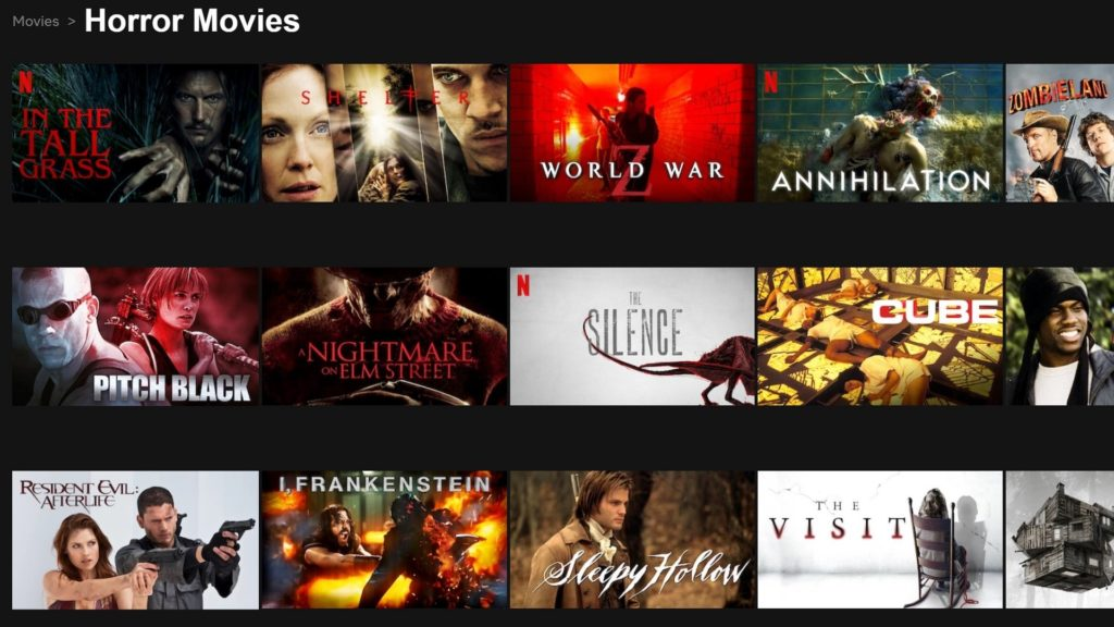 Best Best Horror Movies on Netflix