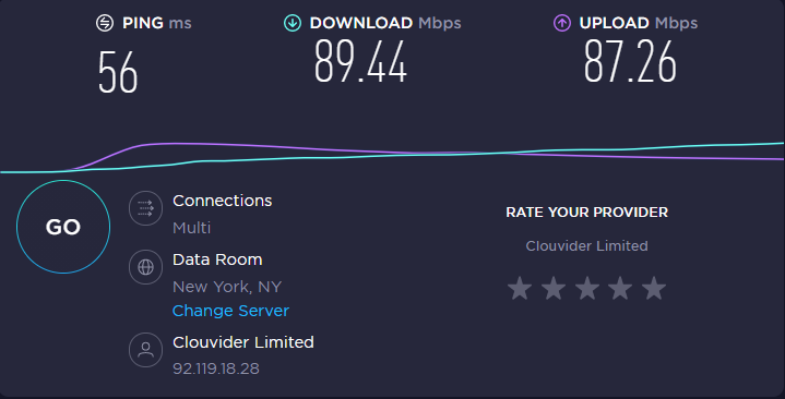Free vpn for netflix - Speed test