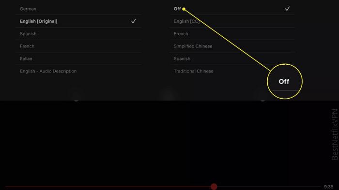 Subtitles on iOS