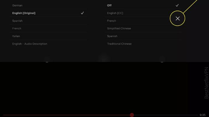 Subtitles on iOS how to turn off subtitles on netflix
