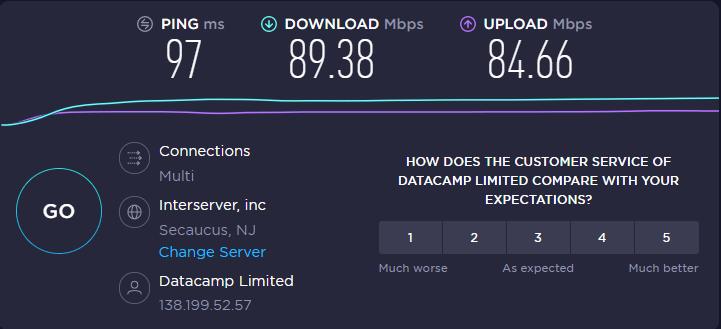 NordVPN - Speed Test