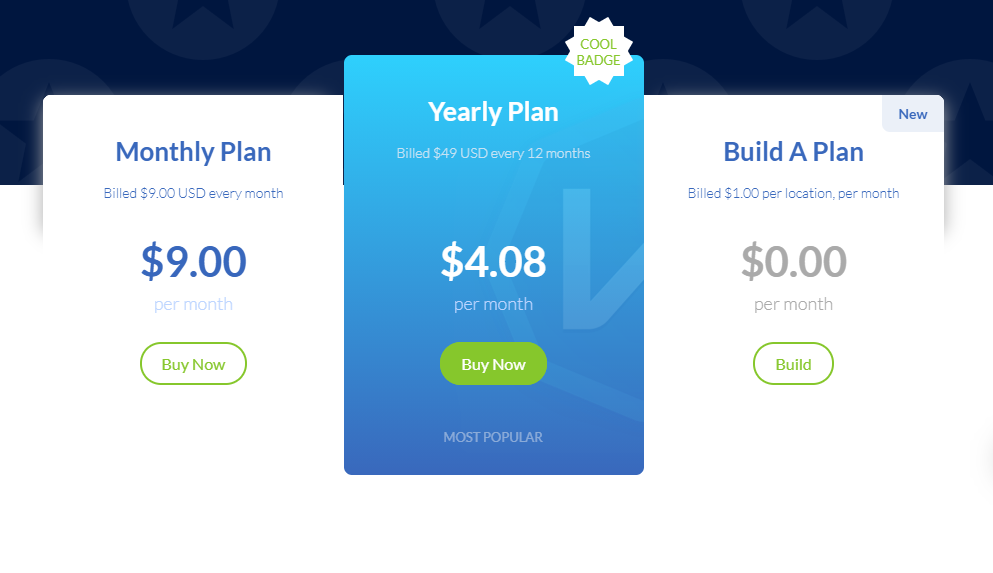 Windscribe - Payment Plan