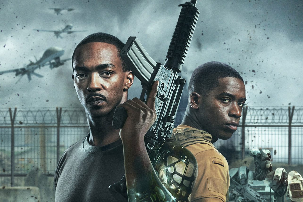 Outside the Wire best action movies on netflix