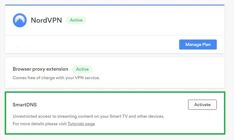 smart DNS proxy nordvpn