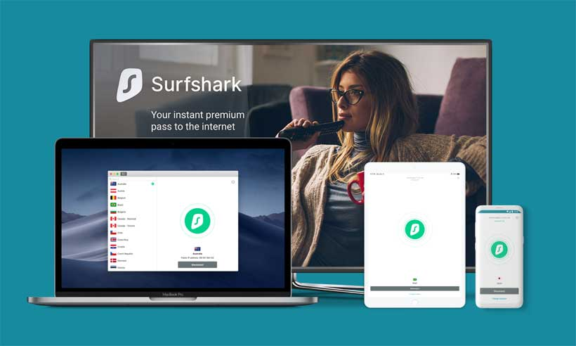 surfshark Compatibility with many devices