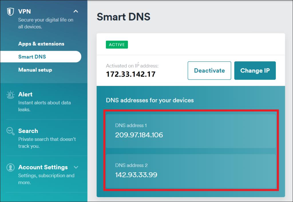 surfshark IPv6 leak protection